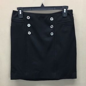 NWT White House Black Market Black Mini Skirt